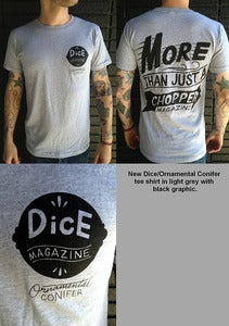 Image of DICE/ORNAMENTAL CONIFER 'MORE THAN' T SHIRT