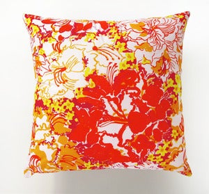 Image of Vintage Lilly Pulizer by Zuzek Fabric Pillow(s) 18&quot; x 18&quot;