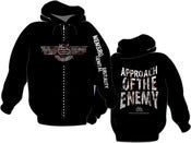 Image of MEMBRO GENITALI BEFURCATOR LOGO Zip-Hoodie PRE-ORDER