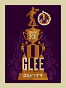 Image of glee : AP screenprint
