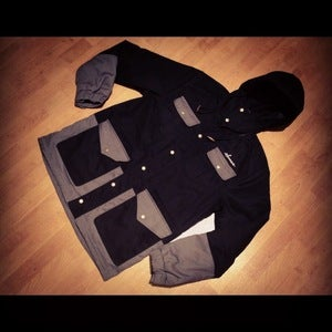 Image of Success Trapper Jacket (Men-Black)