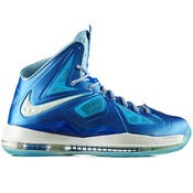 Image of Nike Lebron 10 'Windchill/Blue Diamond'