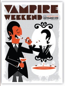 Image of Vampire Weekend Poster -Devil