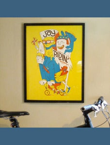 Image of Joy Ridin Poster by Ocular Invasion