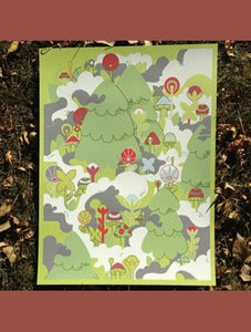 Image of Forest Mist Poster by Ocular Invasion