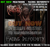 "Image of Meathook ""Facing Deformity"" CD OUT NOW"