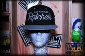Image of LA RATCHETS SNAPBACK (black/grey)