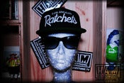Image of LA RATCHETS SNAPBACK (black/black)