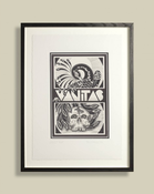Image of Mo Coppoletta - Vanitas - Limited Edition Print