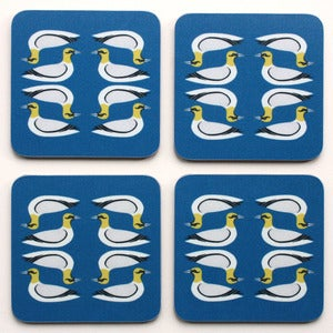 Image of Gannet Coasters -  Pack of Four