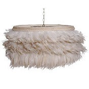 Image of White Feather Lamp