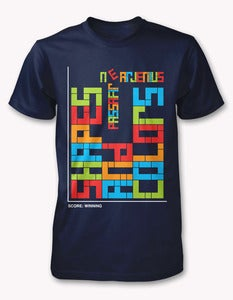 Image of Passafire &quot;Shapes and Colors&quot; (TETRIS Tee)