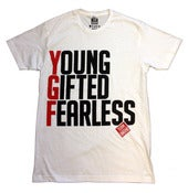 Image of YGF Slogan T-shirt [White]