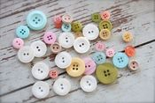 Image of Pastel Button Assortment