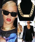 Image of Gold I.D Necklace