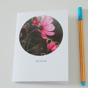 Image of Bloom Circle Greetings Card