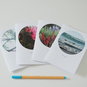 Image of Circle Greetings Cards (pack of four)