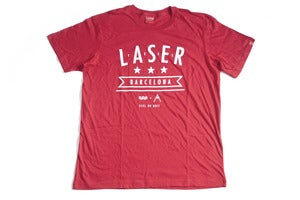 Image of LASER X FEEL Skateboarding Mar &amp; Montaa tee Limited edition