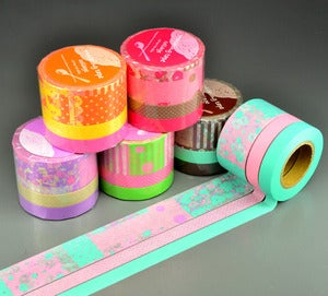 Image of Bright Collage Washi Tape