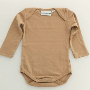 Image of Gardner Long Sleeve Romper Honey
