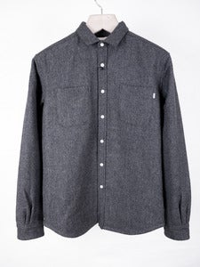 Image of Patrik Ervell - Quilted Wool Winter Shirt