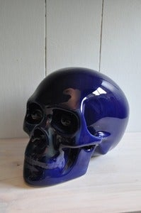 Image of Sacred Skull Ornament Deep Ocean