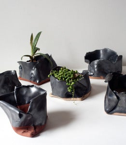 Image of Free-form folded planters