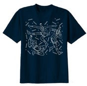 Image of ***SOLD OUT*** Marble Summer Tee Shirt (Dark Blue)