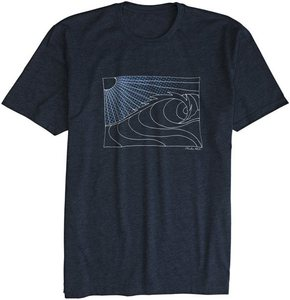 Image of POP WAVE SS Tee - Mid Heather