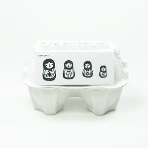 Image of Nesting Doll Stamp Set (4 Rubber Stamps)