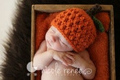 Image of Textured Pumpkin Beanie