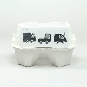 Image of Beep, Beep! Little Car & Truck & Van Stamp Set (3 Rubber Stamps)
