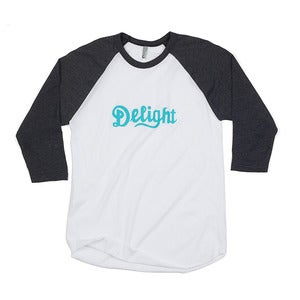 Image of Delight Baseball Tee