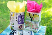 Image of  Paper Gift Bags (set of 3)