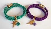 Image of PULSERA DOS VUELTAS CON ESTRELLA 
