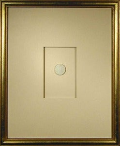 "Image of Framed Intaglios - ""Wilson"" Design"