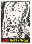Image of Mars Attacks! Heritage Sketch Cards 4