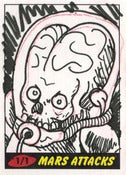 Image of Mars Attacks! Heritage Sketch Cards 6