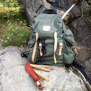 Image of fjallraven 'vintage' 20L Rucksack