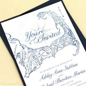 Image of Cape Cod Wedding Invitations