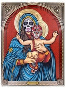 Image of Our Lady of Luchadores