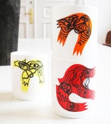 Image of BIRDS WITH MASKS // CUP