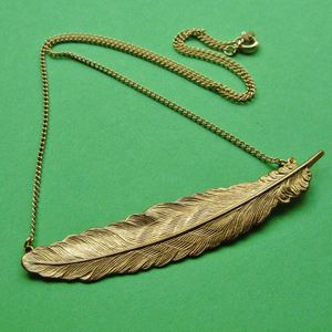 Image of Vintage Feather Necklace