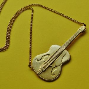Image of Vintage Guitar Necklace