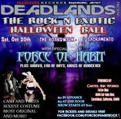 Image of TICKETS: Rock'n  Exotic Halloween Ball