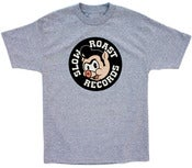 Image of Slow Roast Records Logo Tee - Gray