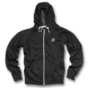 Image of GhostFace Basic Zip Hoodie (charcoal)