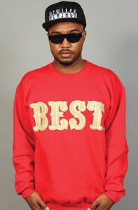 Image of BEST Niner Crew Red