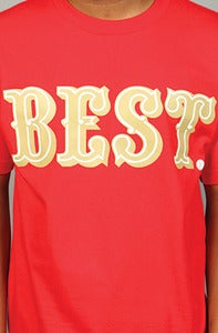 Image of BEST Niner Tee Red