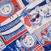 Image of Dorothy Dish and Edward Spoon Tea Towel